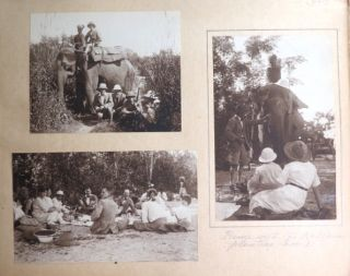 Bengal 1921-24. PHOTOGRAPH ALBUM