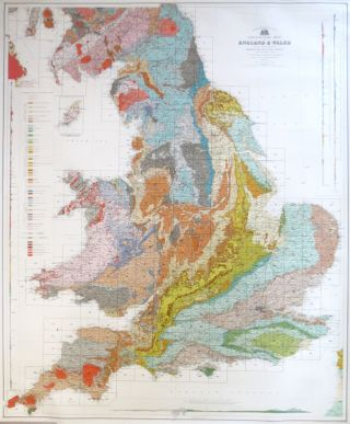 Geological Map of England & Wales Reduced Chiefly from the Ordnance and Geological Surveys under the direction of Sir Archibald Geikie... Director General of the Geological Survey. Topography by. John BARTHOLOMEW.