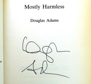 Mostly Harmless. Douglas ADAMS.