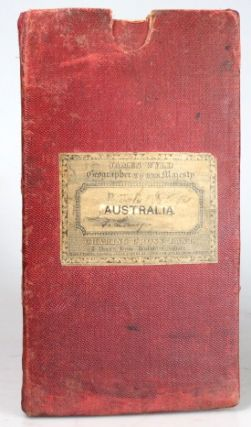 Map of Australia, Compiled from the Nautical Surveys, Made by Order of the Admiralty, and other Authentic Documents, by...