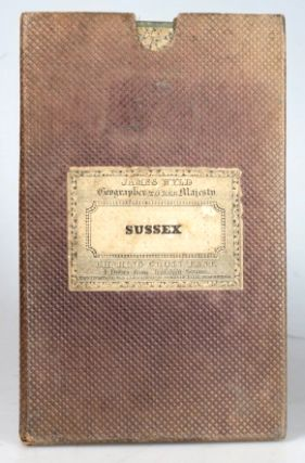 A Topographical Map of the County of Sussex; Reduced from the Large Survey in Four Sheets by...