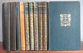 (The Novels and Stories of...). Roderick Hudson. The American. The Europeans. Confidence. Washington Square. The Portrait of a Lady. The Bostonians. The Princess Casamassima. The Tragic Muse. The Awkward Age. The Spoils of Poynton. What Maisie Knew. The Aspern Papers. The Reverberator. Lady Barberina. The Lesson of the Master. The Author of Beltraffio. The Altar of the Dead. Daisy Miller. Watch and Ward. A Diary of a Man of Fifty. The Last of the Valerii. Lord Beaupré. Maud-Evelyn. The Sacred Fount. The Wings of a Dove. The Ambassadors. The Golden Bowl.