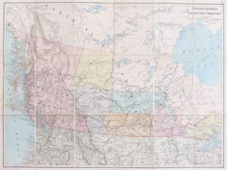 British Columbia and the North West Territories. Edward STANFORD.