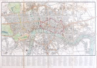 Tegg's New Plan of London, &c. with 360 References to the Principal Streets, &c. T. TEGG