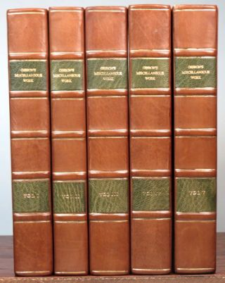 The History of the Decline and Fall of the Roman Empire. [with] The Miscellaneous Works of... with Memoirs of his Life and Writings... with occasional notes and narrative by... John, Lord Sheffield.
