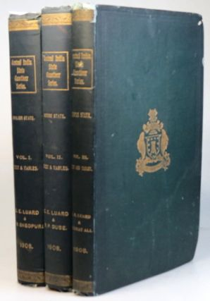 The Central India State Gazetteer Series. Gwalior State Gazetteer. Volume I. - Text and Tables....