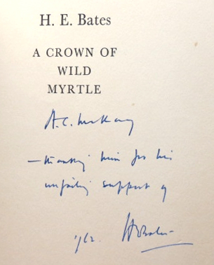 A Crown of Wild Myrtle. H. E. BATES