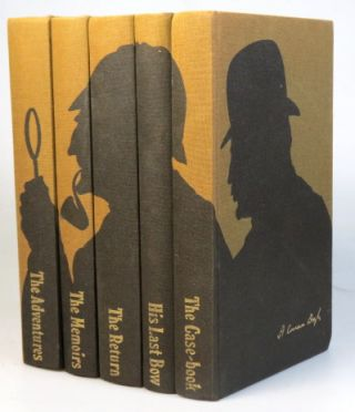 The Adventures of Sherlock Holmes. The Memoirs of... The Return of... His Last Bow. The Case-Book of... Illustrated by Francis Mosley. Arthur Conan DOYLE.