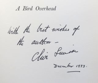 A Bird Overhead. Illustrated... R.B. Talbot-Kelly. Clive SIMSON.