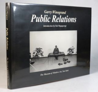 Public Relations. Introduction by Tod Papageorge. Gary WINOGRAND.