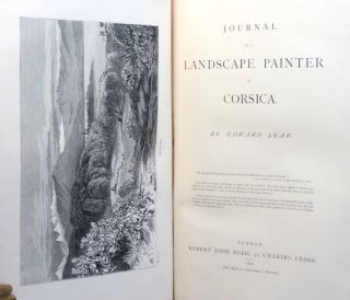 Journal of a Landscape Painter in Corsica.