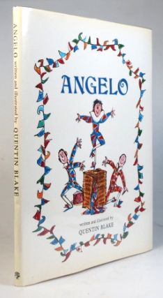 Angelo. Written and illustrated by. Quentin BLAKE.