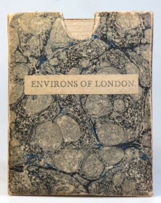A Topographical Map of the Country Twenty Miles Round London, Planned from a Scale of Two Miles to an Inch.