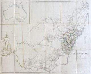 The South Eastern Portion of Australia Compiled from the Colonial Surveys, and from Details Furnished by Exploratory Expeditions. John ARROWSMITH.