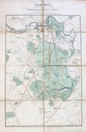 New Map of the Drives & Rides in Windsor Great Park, and its Vicinity. Reduced from Mr. H....
