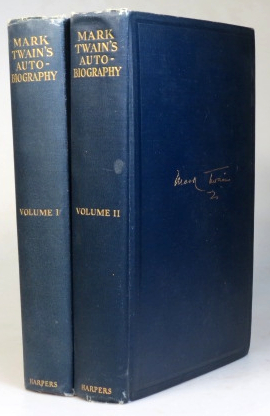 Mark Twain's Autobiography. With an Introduction by Albert Bigelow Paine. TWAIN. Mark.