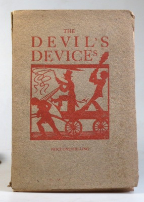 The Devil's Devices, or Control versus Service. With woodcuts by Eric Gill. SAINT DOMINIC'S PRESS, Douglas PEPLER.