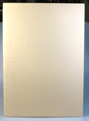 Frank Bowling. Bowling on Through the Century. A major touring exhibition of recent paintings...
