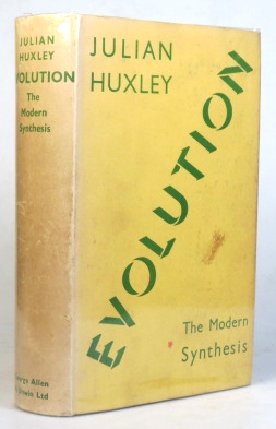 Evolution. The Modern Synthesis. Julian HUXLEY