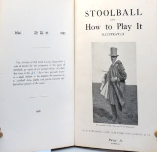 Stoolball and How to Play It, Illustrated.