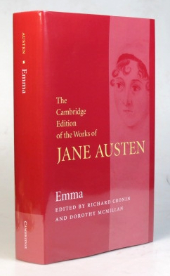 Emma. Edited by Richard Cronin and Dorothy McMillan. Jane AUSTEN