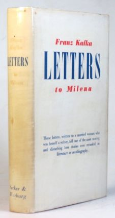 Letters to Milena. Edited by Willi Haas. Translated by Tania and James Stern. Franz KAFKA
