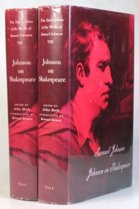 Johnson on Shakespeare. Edited by Arthur Sherbo with an introduction by Bertrand H. Bronson....