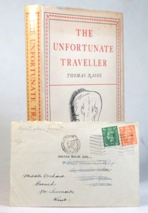 The Unfortunate Traveller, or the Life of Jacke Wilton... illustrated by Michael Ayrton, with an...