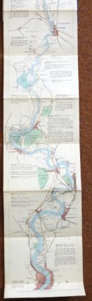 The Oarsman's and Angler's Map of the River Thames From its Source To London Bridge. E. G....