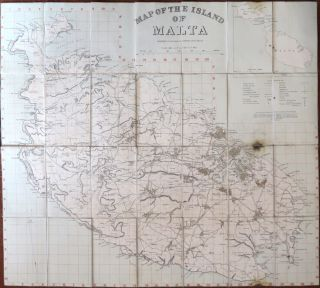 Map of the Island of Malta. Prepared in the Royal Engineers Office, Malta. ROYAL ENGINEERS