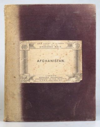 Map of Afghanistan Based on Survey of India Maps.