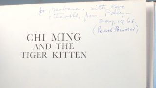 Chi Ming and the Tiger Kitten. Illustrated by Pearl Binder.