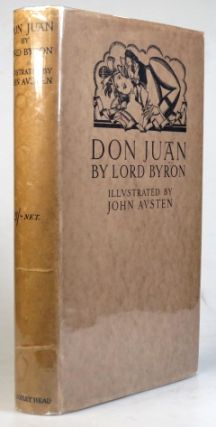 Don Juan. With... illustrations & decorations by John Austen. Lord BYRON