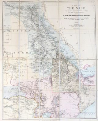 A Map of the Nile, from the equatorial lakes to the Mediterranean, embracing the eastern Sudan...