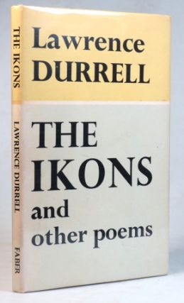 The Ikons, and other poems. Lawrence DURRELL