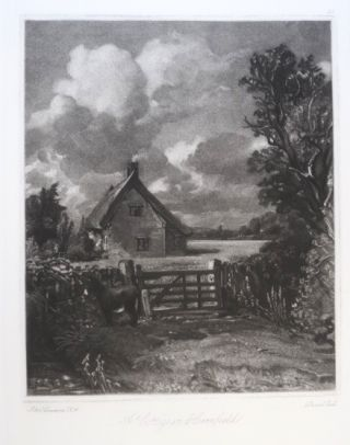 Mezzotints. A New Printing from Eleven Recently Discovered Original Steel Plates.