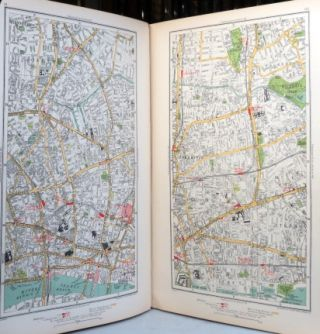 The Authentic Map Directory of London and Suburbs.