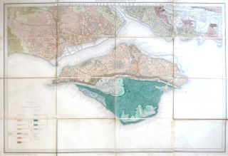 Ordnance Survey of the Isle of Wight and Part of Hampshire. GEOLOGICAL SURVEY OF ENGLAND
