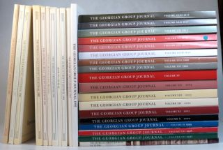 The Georgian Group Journal. 1986-1989, 1991-2015. [1996 numbered Volume VI and all subsequent...