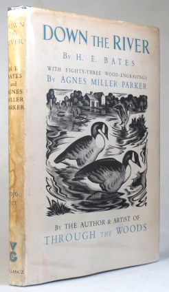 Down the River. With... Engravings on Wood by Agnes Miller Parker. Agnes Miller PARKER, H. E. BATES