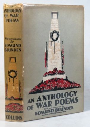 An Anthology of War Poems. Introduction by Edmund Blunden. Frederick BRERETON