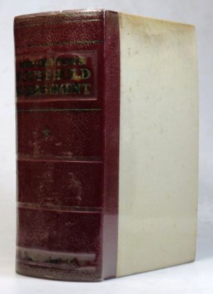 Mrs. Beeton's Book of Household Management. A Complete Cookery Book. BEETON Mrs, Isabelle