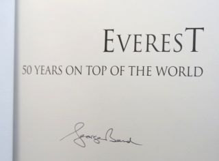 Everest. 50 Years on Top of the World. George BAND