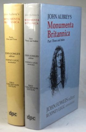 Monumenta Britannica or a Miscellany of British Antiquities... Illustrated with Notes of Thomas...