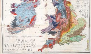 Geological Map of the British Isles.