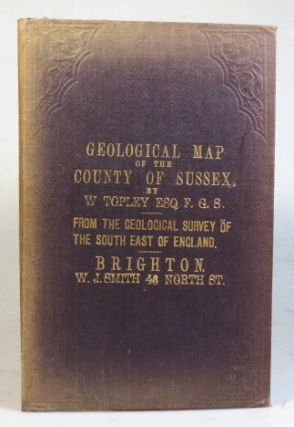Geological Map of the County of Sussex.