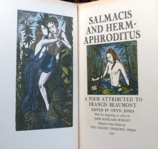 Salmacis and Hermaphroditus. A Poem attributed to... Edited by Gwyn Jones. With... engravings in...