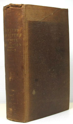 Minutes of the Committee of Council on Education: with Appendices, and Plans of School-Houses. 1842-43. EDUCATION.