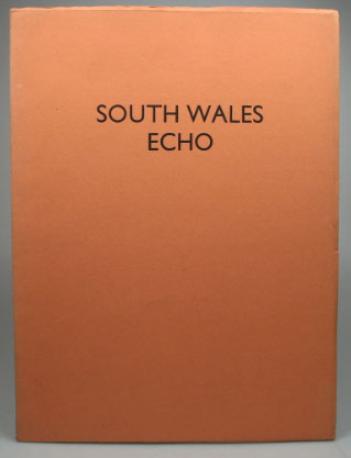 South Wales Echo. With an Introduction by David Blamires. Gerardus ENITHARMON PRESS: CAMBRENSIS