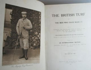 The British Turf, and the Men who have made it. Being an Historical and Contemporary Work on...